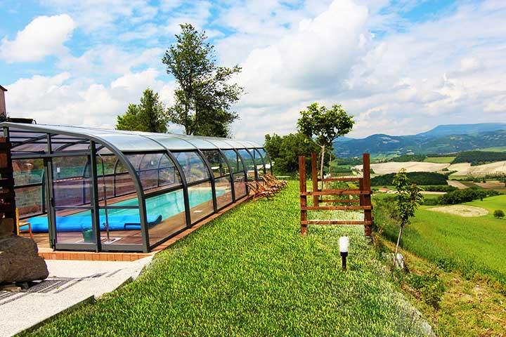 Villa con piscina coperta casamia idea di immagine - Agriturismo toscana con piscina coperta ...